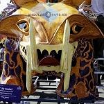 Alebrije nombrado Ay Nanita en la onceava edición del desfile de alebrijes monumentales de la ciudad de México
