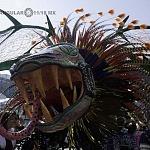 Alebrije nombrado Gucumatz en la onceava edición del desfile de alebrijes monumentales de la ciudad de México