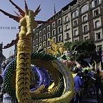 Alebrije nombrado Rhicómata en la onceava edición del desfile de alebrijes monumentales de la ciudad de México
