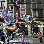 Alebrije nombrado el chilango en la onceava edición del desfile de alebrijes monumentales de la ciudad de México