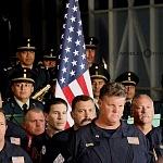 Ceremonia de despedida de Rescatistas de Estados Unidos en el Hangar de la unidad especial de transporte aéreo del alto mando en la ciudad de México (1)