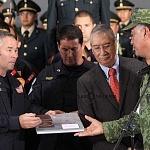 Ceremonia de despedida de Rescatistas de Estados Unidos en el Hangar de la unidad especial de transporte aéreo del alto mando en la ciudad de México (12)