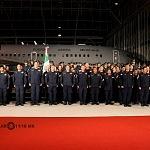 Ceremonia de despedida de Rescatistas de Estados Unidos en el Hangar de la unidad especial de transporte aéreo del alto mando en la ciudad de México (5)