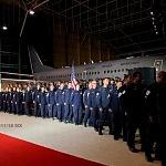Ceremonia de despedida de Rescatistas de Estados Unidos en el Hangar de la unidad especial de transporte aéreo del alto mando en la ciudad de México (6)