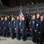 Ceremonia de despedida de Rescatistas de Estados Unidos en el Hangar de la unidad especial de transporte aéreo del alto mando en la ciudad de México (7)