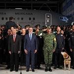 Ceremonia de despedida de Rescatistas de Estados Unidos en el Hangar de la unidad especial de transporte aéreo del alto mando en la ciudad de México (8)