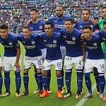 Equipo titular del Cruz Azul en la jornada 13 del torneo apertura 2017