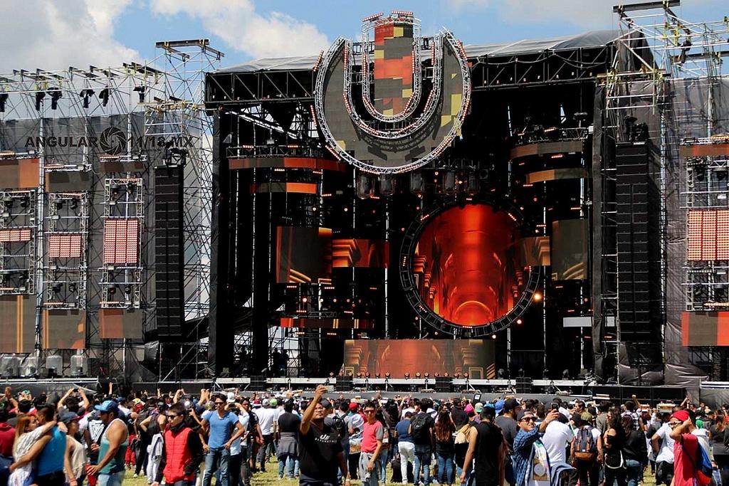 Escenario Ultra Festival México 2017