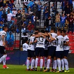Festejo del único gol de Pumas en la jornada 12
