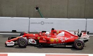 Gran premio de México de F1 2017 auto numero 5 escuderia Ferrari (1)
