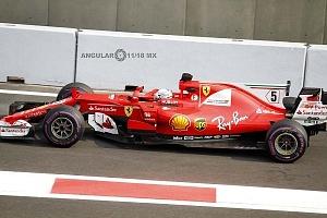 Gran premio de México de F1 2017 auto numero 5 escuderia Ferrari