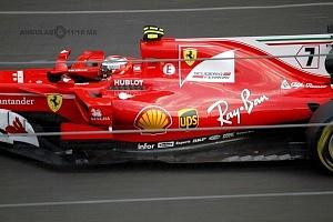 Gran premio de México de F1 2017 auto numero 7 escuderia Ferrari
