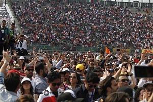 Gran premio de México de F1 2017 publico autodromo Hermanos Rodriguez