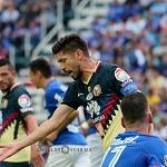 Oribe Peralta factor para el triunfo del America ante el Cruz Azul 1 po3