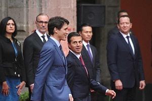 Primer Ministro de Canadá Justin Trudeau en Visita Oficial a la Ciudad de México (2)