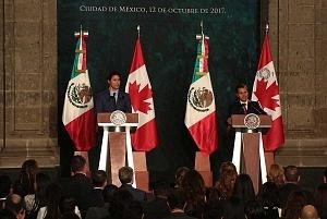Primer Ministro de Canadá Justin Trudeau en Visita Oficial a la Ciudad de México
