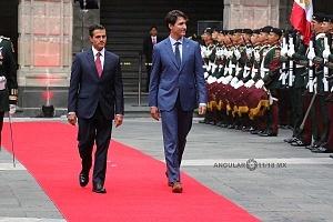 Primer Ministro de Canadá Justin Trudeau en Visita Oficial a la Ciudad de México (9)