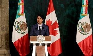 Primer Ministro de Canadá Justin Trudeau en Visita Oficial a la Ciudad de México p