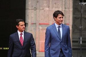 Primer Ministro de Canadá Justin Trudeau y El Presidente Enrique Peña Nieto en Visita Oficial a la Ciudad de México