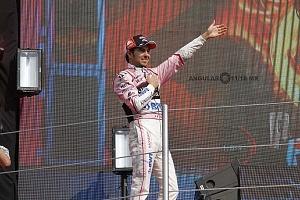 Sergio Perez Piloto de la la escuderia Force india termino en la septima posición del GP de México 2017