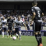 pumas pierde con el Monterrey 1-0 en la jornda 14