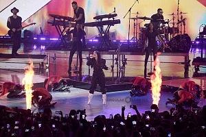 Demi Lovato en los premios telehit 2017