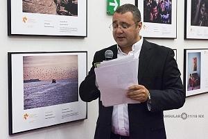 Director Regional de la Agencia de Información RossiyaSegodnya Oleg Vyazmitinov