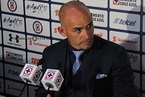 Director Tecnico del Cruz Azul Paco Jemez despues del triunfo ante el Veracruz en la jornada 17