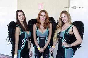 Edecanas de NASCAR Peak México en la Gran final de la temporada 2017 9