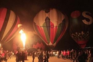 Festival Internacional del Globo de León 2017 noche de luces