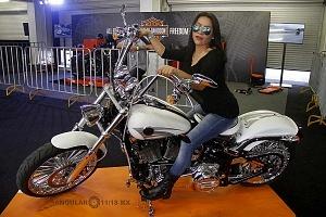 Harley Days 2017 exhibición y venta de motocicletas Harley Davidson edecanes 2