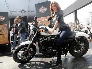 Harley Days 2017 exhibición y venta de motocicletas Harley Davidson edecanes
