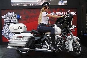 Harley Days 2017 exhibición y venta de motocicletas Harley Davidson edecanes cuatro