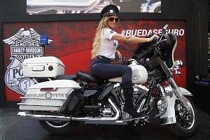 Harley Days 2017 exhibición y venta de motocicletas Harley Davidson edecanes p