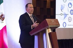 José Antonio Meade Kuribreña secretario de Hacienda y Crédito Público en la Reunión Anual con el Cuerpo Diplomático Acreditado en México (1)