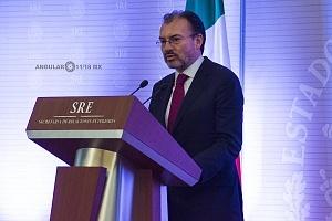 Luis Videgaray secretario de relaciones exteriores en el evento de la Reunión Anual con el Cuerpo Diplomático Acreditado en México (1)