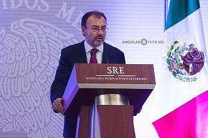 Luis Videgaray secretario de relaciones exteriores en el evento de la Reunión Anual con el Cuerpo Diplomático Acreditado en México (3)