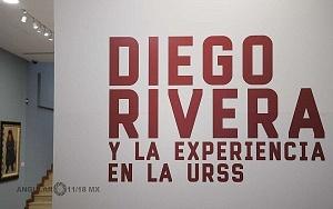 Recorrido para medios de la exposición Diego Rivera y La Experiencia en la URSS 1
