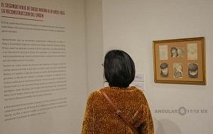 Recorrido para medios de la exposición Diego Rivera y La Experiencia en la URSS 13
