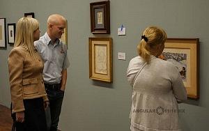 Recorrido para medios de la exposición Diego Rivera y La Experiencia en la URSS 25