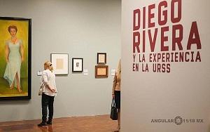 Recorrido para medios de la exposición Diego Rivera y La Experiencia en la URSS 29