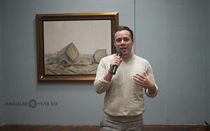 Recorrido para medios de la exposición Diego Rivera y La Experiencia en la URSS 30