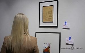 Recorrido para medios de la exposición Diego Rivera y La Experiencia en la URSS 4