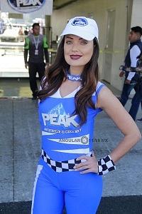 edecanes NASCAR México 2017 1