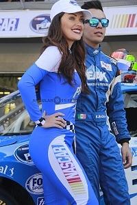 edecanes NASCAR México 2017