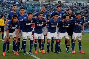 equipo titular del Cruz Azul en la jornada 17 del torneo apertura 2017