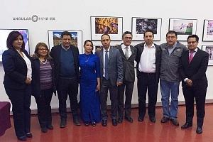 exposición de las obras ganadoras del Premio Internacional de Fotoperiodismo AndréiStenin 2