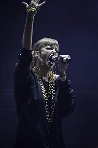 Plastilina Mosh, la banda regiomontano, fue el grupo sorpresa en la clausura de la semana de las juventudes 2017