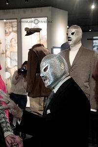 Estudios Churubusco celebra sus 72 años con magna exposición luchador el Santo Jr 1