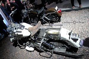 Estudios Churubusco celebra sus 72 años con magna exposición motocicletas de la pelicula a toda maquina 1